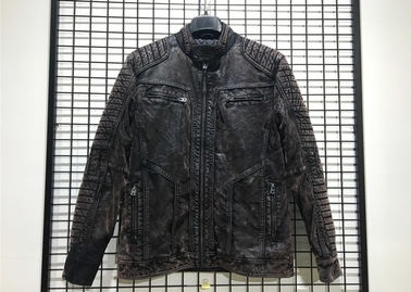 Mens PU Jacket